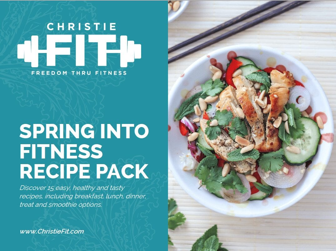spring into fitness recipe pack